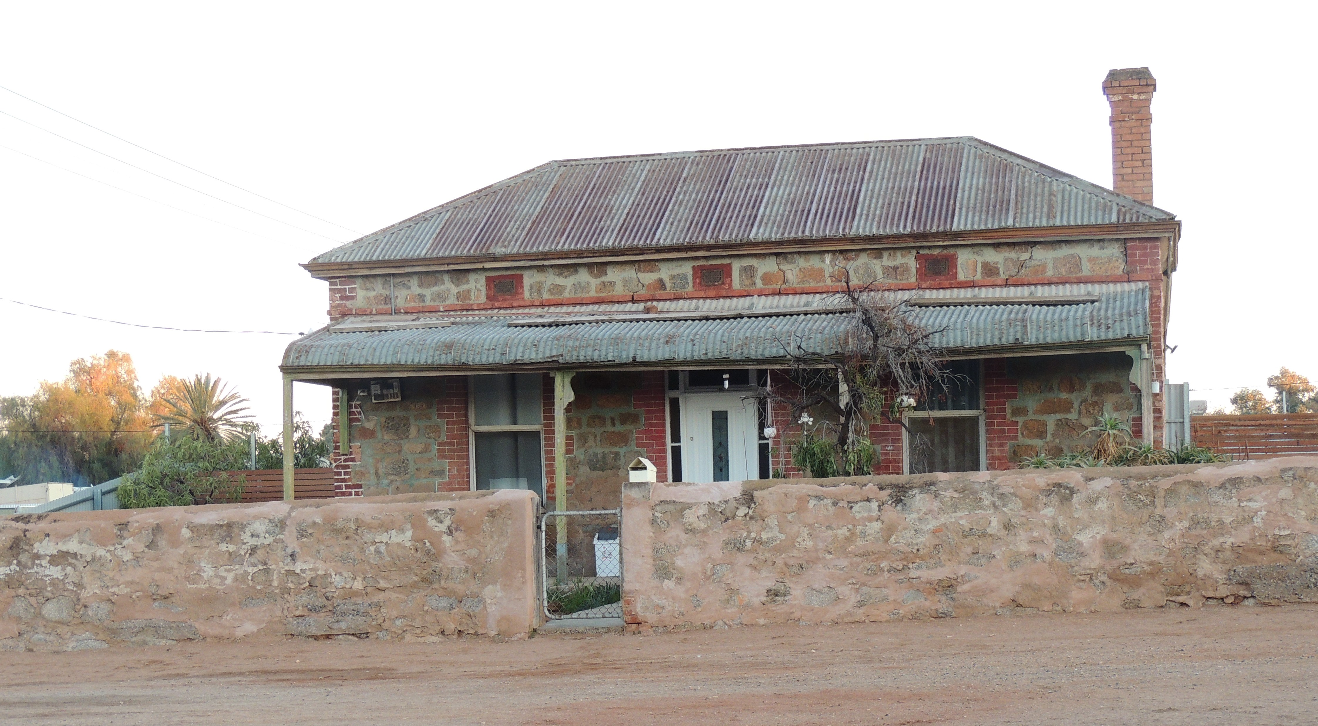 A typical Broken Hill cottage